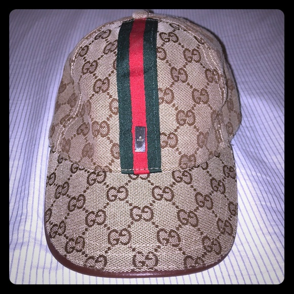 6d3bff61207 Gucci Other - Authentic Gucci baseball hat